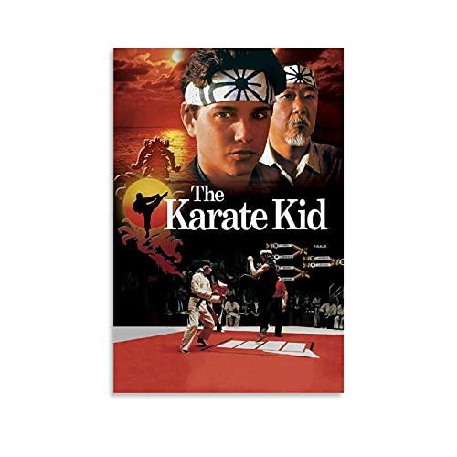 Póster de Karate Kid Movie Póster, cuadro decorativo, lienzo para pared, sala de estar, póster, dormitorio, pintura, 50 x 75 cm