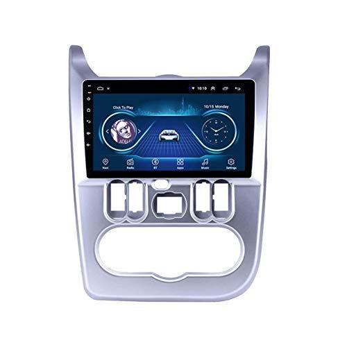 WHL.HH Multimedia Jugador para REN Ault DUATER/Logan 2009-2013 GPS Navegación Radio Estéreo 4G WiFi Bluetooth 10 Pulgadas Pantalla táctil Cabeza Unidad Android 10.0 GPS Navegación Video Receptor