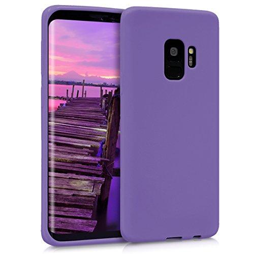 kwmobile Hülle kompatibel mit Samsung Galaxy S9 - Handyhülle - Handy Hülle in Violett