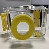 meixiang Fallsichere HD-Kamera, wasserdichte Digitalkamera, Tragbare Unterwasserkamera Gelb