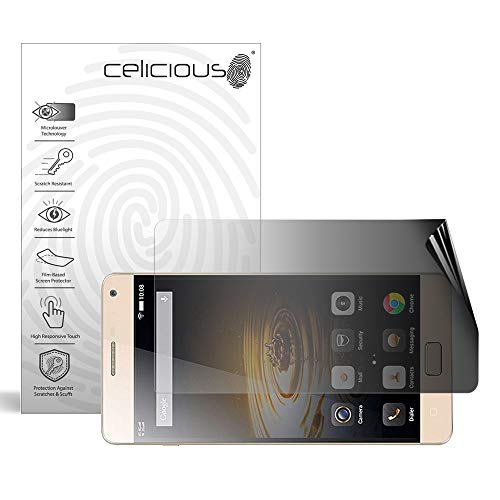Celicious Privacy 2-Way Landscape Anti-Spy Filter Screen Protector Film Compatible with Lenovo P2