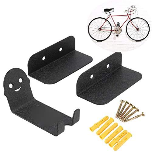 Bike Pedal Hook Bike Rack Garage Wall Mount Bike Hanger Storage Horizontal System for Indoor Shed