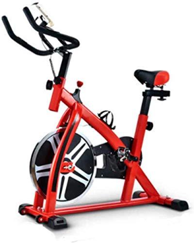 YLJYJ Bicicleta giratoria Bicicleta giratoria Bicicleta de Ejercicio Profesional para Interiores con Volante de 8 KG Soporte de Brazo Acolchado Asiento cómodo Ciclos de Estudio en Interiores
