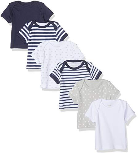 Care 550228 T- T-Shirt, Bleu (Dark Navy 778), 80, Lot de 6