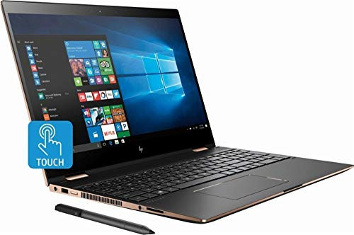 HP Spectre x360 15T 4K Touch Laptop con gráficos Vega M
