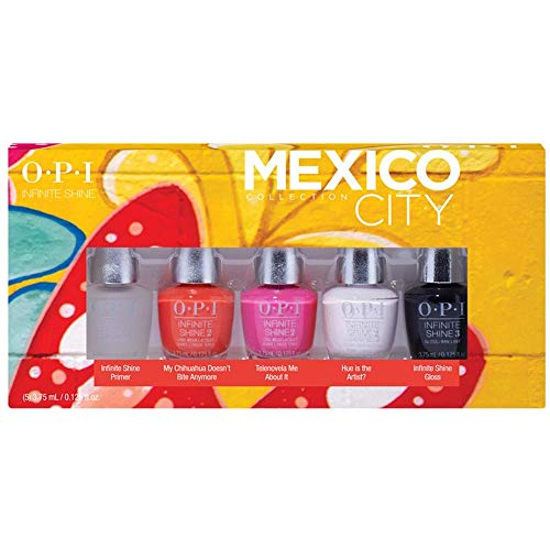 OPI Infinite Shine Nagellack Mini Set , 1er Pack (5 x 3.75 ml)