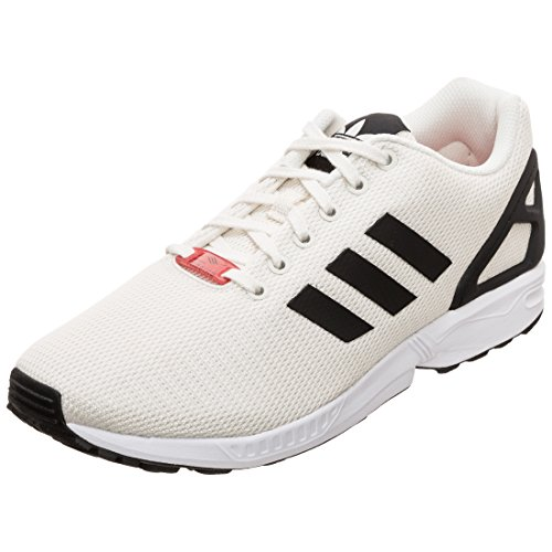 Adidas ZX Flux Zapatillas, Creme/Schwarz, 11.5 UK - 46.2/3 EU