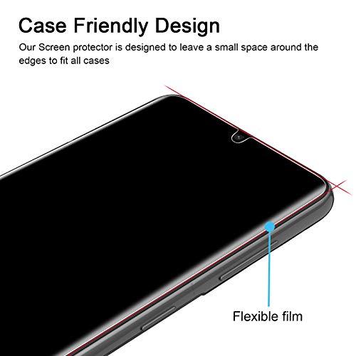 omitium Schutzfolie Kompatibel mit Samsung Galaxy S21 (6,2 Zoll), [3 Stück] Samsung Galaxy S21 Displayschutzfolie [Max Abdeckung] Klar TPU Weich Folie Blasenfreie Samsung Galaxy S21 Displayschutz