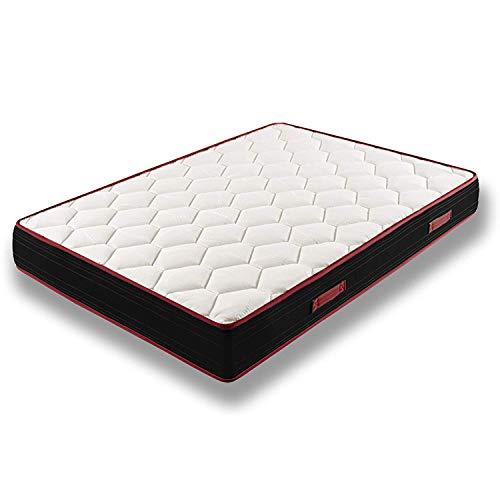 HOGAR24 Memory Fresh 3D visco-elastische matras, omkeerbaar 80x180