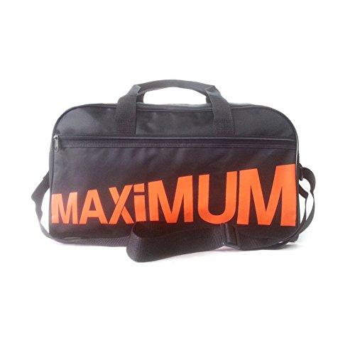 MAXIMUM F-1 NEW Sports Shoulder Bag Travel Bag Luggage Suitcase Gym Bag (Orange(Medium))