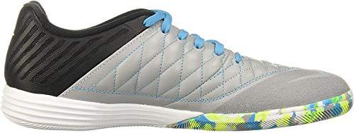 Nike Lunar Gato II IC, Botas de fútbol para Hombre, Multicolor (Black/Volt/Wolf Grey/Lt Current Blue 70), 38.5 EU