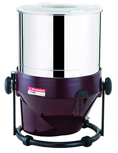 Premier 2.0L Tilting Wet Grinder - 110V - Maroon Color