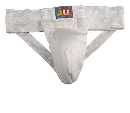 Ju-Sports Tiefschutz Stoff, schwarz/weiß, L, 6402003