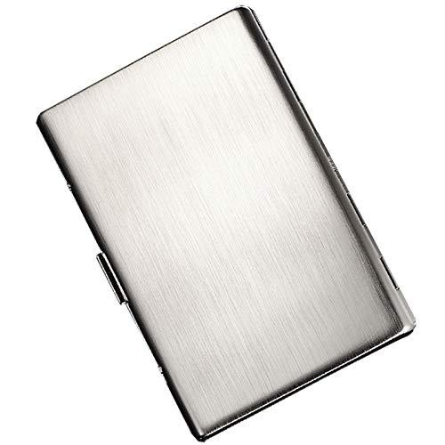 JQCHY Acier Inoxydable Étui à Cigarettes, Moderne Portable...
