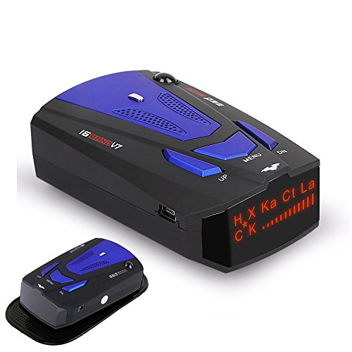 Buy Bargain HOLDJOVEMK Radar Detector, Voice Prompt Speed, City/Highway Mode Radar Detector for Cars...