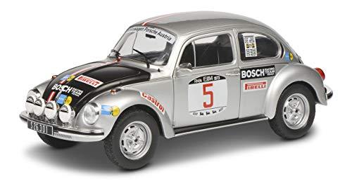 SOLIDO- Soldio S1800514 VW Maggiolino 1303#5, Rallye Elba 1973, modellino Auto, 1:18, Argento, 421185250