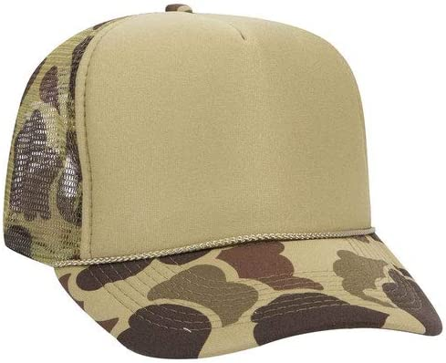 Product of Ottocap Camouflage Polyester Dealing full price reduction Panel Super intense SALE Foam Hi Five Front