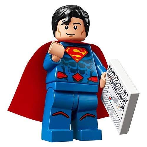 Unbekannt Lego® 71026 Minifigures Minifiguren DC Super Heroes Figur Superman + Sticker-und-co Bonbon