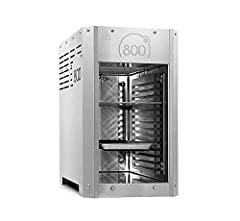 intergrill 800° Pure Steakgrill High-performance grill Bovenste warmte grill 3,5kw 10kg roestvrij staal incl. grillgrill gastro bowl Grill rozenlifter Elektrische pulsontsteking*
