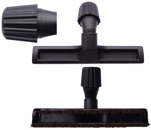 Cleanwizzard, Bocchette per aspirapolvere AEG AEO 5460 Essensio, per la pulizia di pavimenti, parquet, laminati, piastrelle, incl. 1 rotolo di sacchetti della spazzataura da 16 l