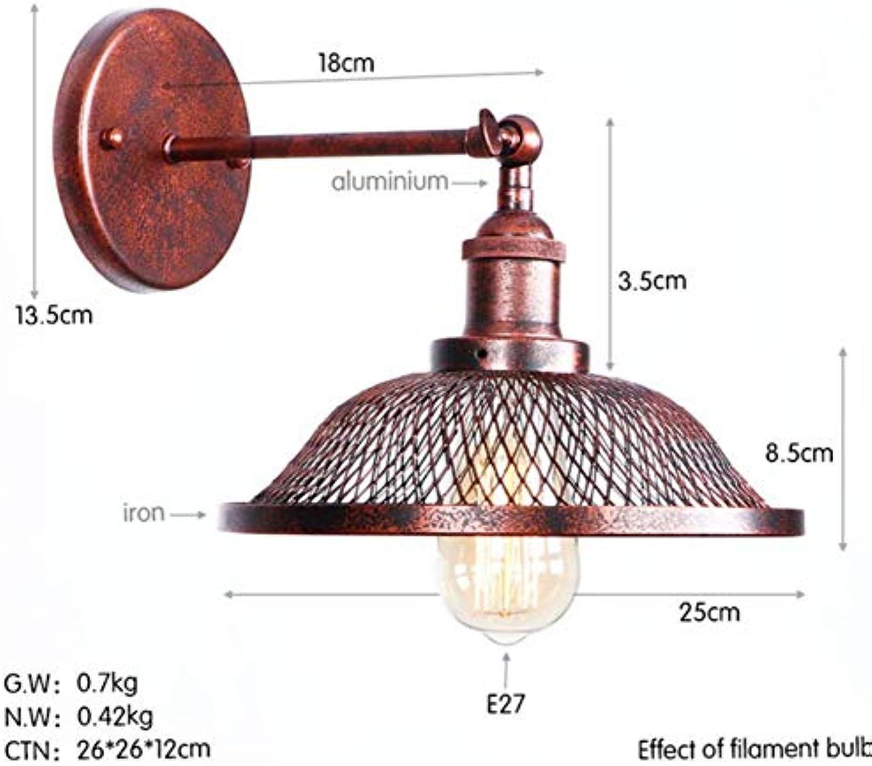 Retro Wandlampe des Loftartrostes Retro- Wandlampe Schlafzimmerlampe des Wohnzimmers Wandlampen-Treppenlicht, G.