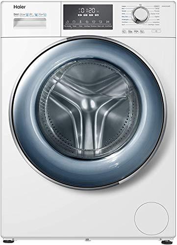 Haier Series 876 Lavatrice 10 Kg a Carica Frontale, 1400 Giri, Opzione Vapore, Libera installazione, 59.5*53*85 cm, Bianco, Classe A+++