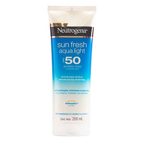Protetor Solar Sun Fresh Aqua Light FPS 50, Neutrogena, 200ml