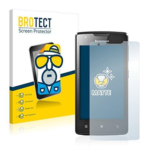 BROTECT 2X Entspiegelungs-Schutzfolie kompatibel mit Lenovo A1000 (Smartphone) Bildschirmschutz-Folie Matt, Anti-Reflex, Anti-Fingerprint