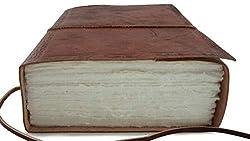 handmade vintage ~ handmade leather journal