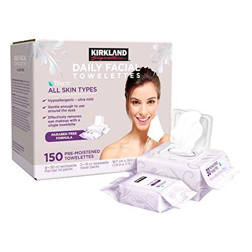 Kirkland Signature Daily Facial Towellettes, 4.53 Pound