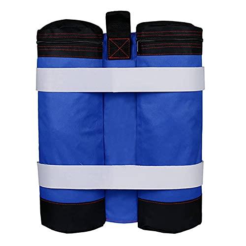1 Uds / 4 Uds Bolsa de arena con peso para toldo, bolsas pesadas para patas de gazebo a prueba de viento, para Pop-up Canopy Carpa Pies Cargados
