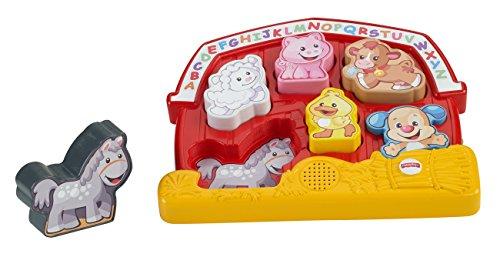Fisher-Price Mattel CGM70 - Lernspaß Bauernhof Puzzle