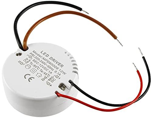 ChiliTec elektronischer LED Trafo Rund 12V 12Watt Unterputz Dosen Einbau Ø55mm Treiber für Unterputz UP-Dosen
