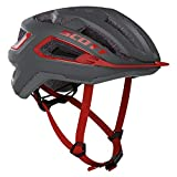 Scott 275195 - Casco de Bicicleta Unisex para Adulto, Color Gris Oscuro y Gris, Talla M