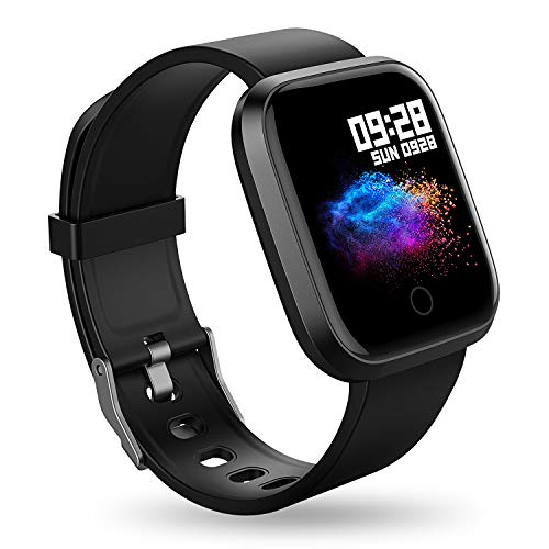 RIVERSONG Smart Watch Fitness Activity Tracker Color Screen Waterproof Sports Fitness...