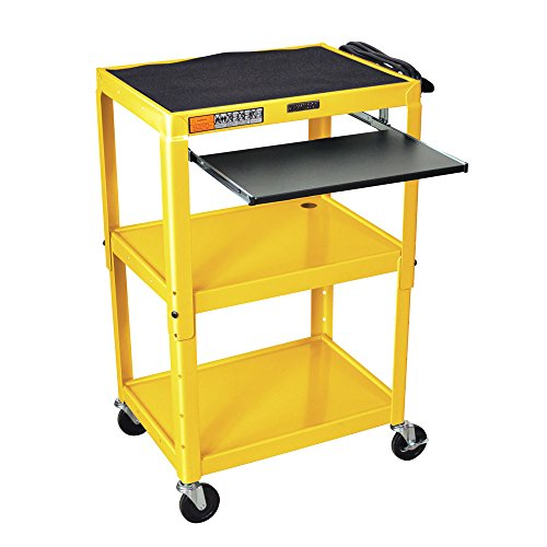 Luxor - Adjustable Yellow Presentation Cart