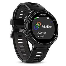 Garmin Forerunner 735XT-GPS-Uhr, schwarz/grau, M, 010-01614-06©Amazon