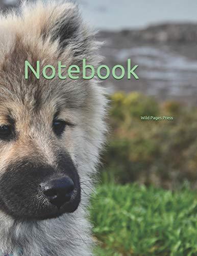 Notebook: dog dogs eurasier blue canine puppy puppies breeder breeds breed breeder