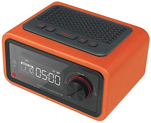SEESEE.U Radiowecker Uhren Multifunktions-Lautsprecher LED-Anzeige Multimedia-Karte Smart Radio Mini Elektronische Desktop Bluetooth Digital Wecker