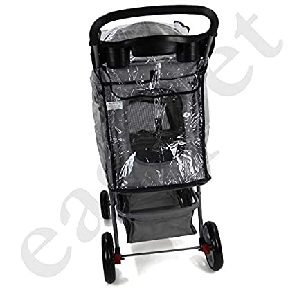 Easipet Rain Cover Pet Stroller 6