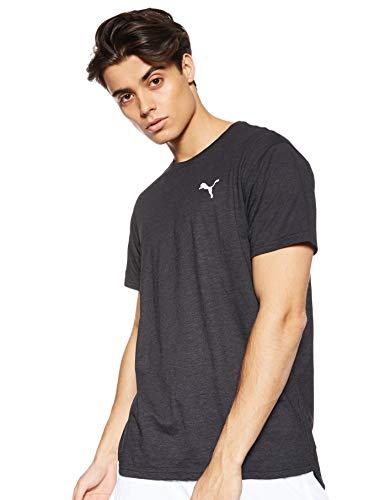 Puma Energy SS Tee T Shirt Homme, Black Heather, L