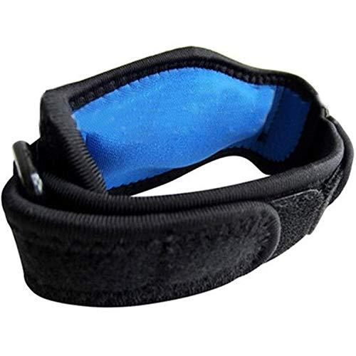 oxoxo sports Tennisarm-Bandage mit stoß-absorbierenden EVA-Polstern | Soft-Lycra-Nähte für höchsten Tragekomfort | Beidseitige Ring-Schnallen für perfekten Halt | Epicondylitis-Spange
