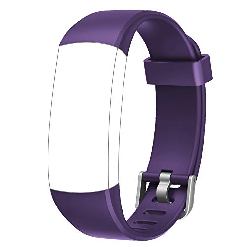 YAMAY Ersatz Armband für das SW336 Fitness Tracker (Lila)