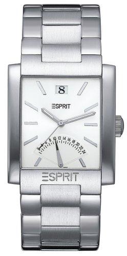 Esprit ES000CH1005 - Reloj analógico para Caballero de Acero Inoxidable Plata