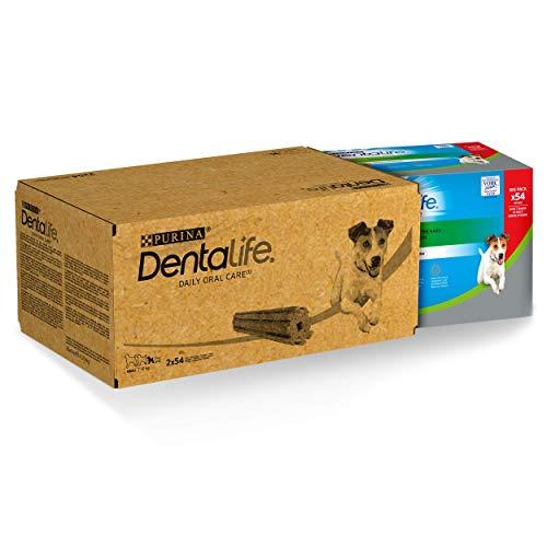 Dentalife Snack per l'Igiene Orale, per Cani di Taglia Piccola, Maxi Confezione da 108 Stick