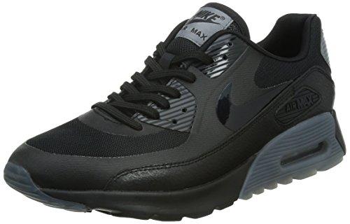 Nike W Air MAX 90 Ultra Essential, Zapatillas de Deporte Mujer, Negro (Black/Black-Cool Grey-Pr Pltnm), 36 1/2