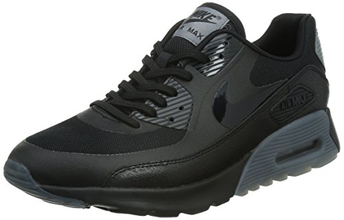 Nike Damen W Air Max 90 Ultra Essential Sportschuhe, Nero (Black/Black-cool Grey-pr Pltnm) (Grigio), 36.5 EU