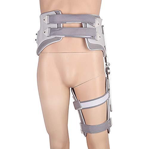 HHJY Hüftabduktionsorthese, Verstellbarer Fixierungsvorrichtung Für Den Hüftgelenkschutz Postoperative Orthesenstützen, Hüftgurt Pulled Muscles