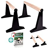 PULLUP & DIP Holz Parallettes