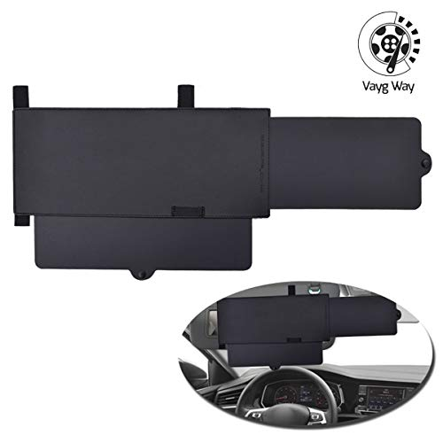VaygWay Car Visor Sunshade Extender – Extendable Car Visor Anti Glare – Windshield Auto Sun Visor Extender – Window Sun Shade Extendable Visor - Universal Car SUV Sun Shade